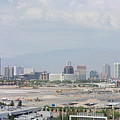 Las Vegas Pano Section 3 Of 3 by Gravityx9  Designs