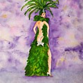 Las Vegas Show Girl by Vicki  Housel