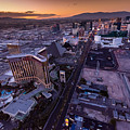 Las Vegas Strip Aloft by Steve Gadomski