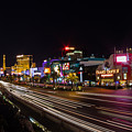 Las Vegas Strip At Night by Vadim Nefedov