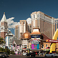Las Vegas Strip by Christian Hallweger