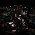 Las Vegas Strip by Judy Vincent