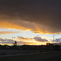 Las  Vegas  Sunset  2 by Carl Deaville