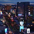 Las Vegas Sunset Strip by Kyle Hanson
