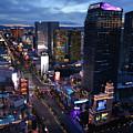 Las Vegas Sunset Strip Portrait by Kyle Hanson