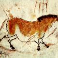 Lascaux Prehistoric Horse by Weston Westmoreland