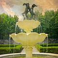 Lasdon Fountain Garden by Diana Angstadt