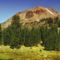 Lassen Peak by Frank Wilson