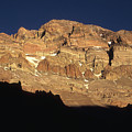 Last Light On Mt Aconcagua by James Brunker