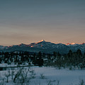 Last Light On Pagosa Peak by Jason Coward
