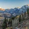 Last Light On The Rockies by Jemmy Archer