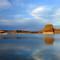 Last Light Over Lake Powell by Mike Dawson