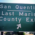 Last Marin County Exit by Frank DiMarco