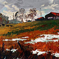 Last Patches Of Snow by Sergey Zhiboedov