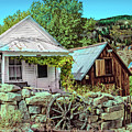 Last Post Office And Ice House by Robert Bales