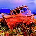 Last Red Boat by Rick Bragan