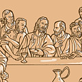 last supper of Jesus Christ by Aloysius Patrimonio