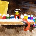 Last Supper W-judas by Curtis J Neeley Jr