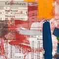 Last Train To Kobenhavn- Art By Linda Woods by Linda Woods