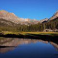 Late Afternoon At Mcclure Meadow by David Lunde