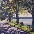 Late Afternoon At Niawanda Park by Ylli Haruni