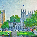 Late Afternoon In Parliament Square by Digital Photographic Arts
