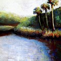 Late Afternoon On Spruce Creek by Hillary Gross