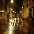 Late Evening Rain  by David Dehner