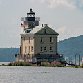 Late Morning At Rondout Light by Jeff Severson