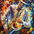 Late Music by Leonid Afremov