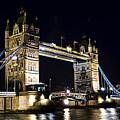 Late Night Tower Bridge by Elena Elisseeva
