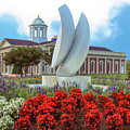 Late Spring At Christopher Newport University by Ola Allen