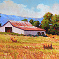 Late Summer Hay by Keith Burgess