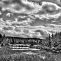 Late Winter At The Tobie Trail Bridge 2 by David Patterson
