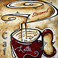 Latte By Madart by Megan Duncanson