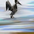 L'atterrissage by Aline Halle-Gilbert