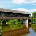 Lattice Covered Bridge by Debbie Oppermann