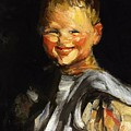 Laughing Child 1907 by Henri Robert