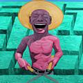 Laughing Gardener by Yue Minjun