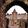 Launceston Castle South Gatehouse by Richard Brookes