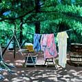Laundry Day 1800 by Stan Hamilton