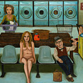 Laundry Day 7 by Leah Saulnier The Painting Maniac