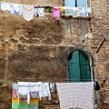 Laundry Day In Venice by Brian Jannsen