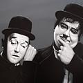 Laurel And Hardy by Paul Meijering