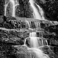 Laurel Falls B And W 2 by George Kenhan