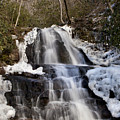 Laurel Falls In Gatlinburg Tennessee by Anthony Totah