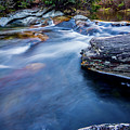 Laurel Flat, Nc - Waterfall by Ryan Kelehar
