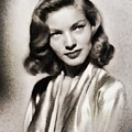 Lauren Bacall, Vintage Actress by John Springfield