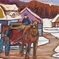 Laurentian Carriage Ride by Carole Spandau