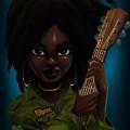 Lauryn Hill by Nelson Dedos Garcia